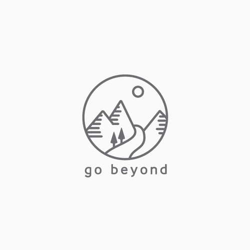 Meditation logo with the title 'Modern and neat line-art logo'