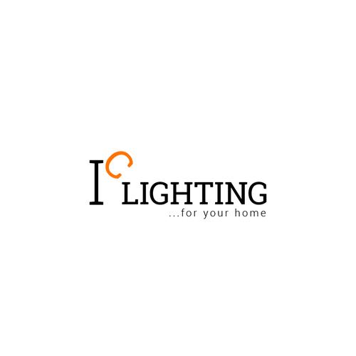 Wordmark logo with the title 'IC Lighting'