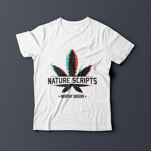 Medical t-shirt with the title 'Medical Marijuana T shirt design'