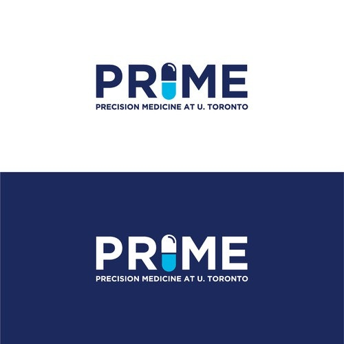 Pharmaceutical logo with the title 'Logo for PRIME - A new cutting edge initiative in medical research'