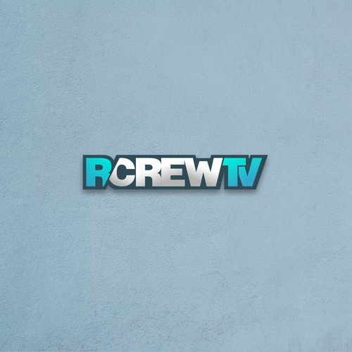 Channel logo with the title 'RCrewTV'