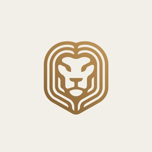 King logo with the title 'Lion'