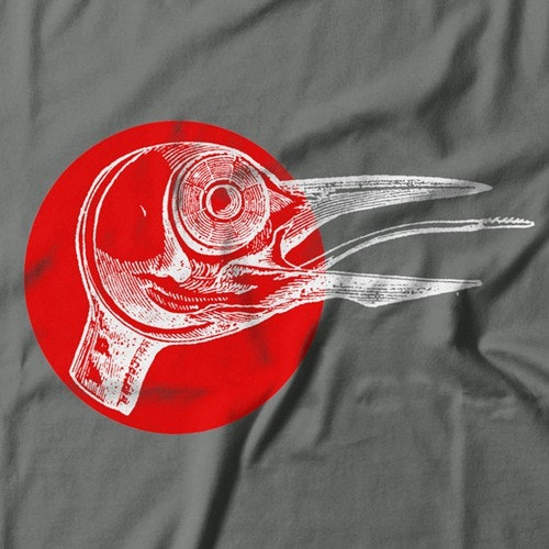 Bird t-shirt with the title 'T-shirt design'