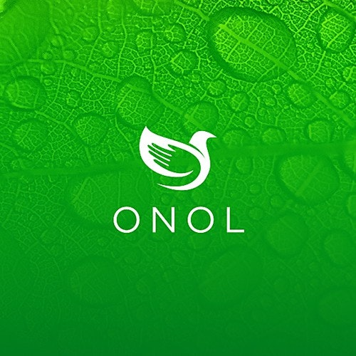 Natural logo with the title 'Onol logo'