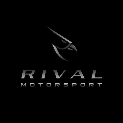 Motorsport logo with the title 'Logo concept for Rival Motorsport'