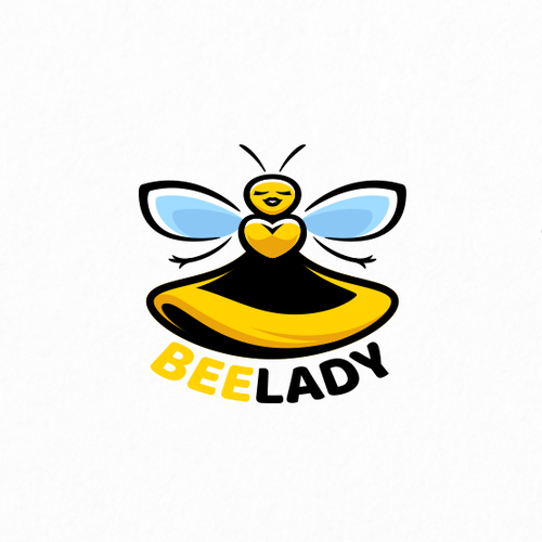 Honey logo with the title 'BEE LADY'