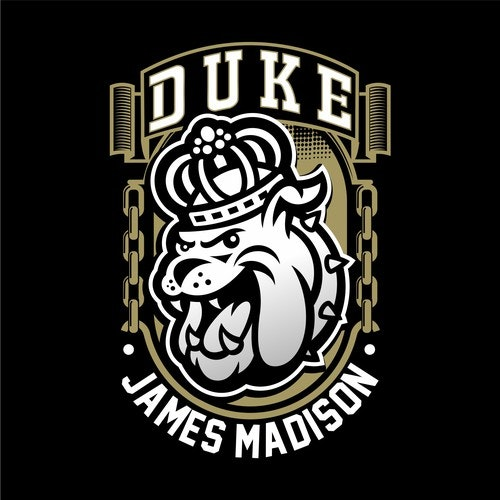 Football t-shirt with the title 'James Madison Footbal club'