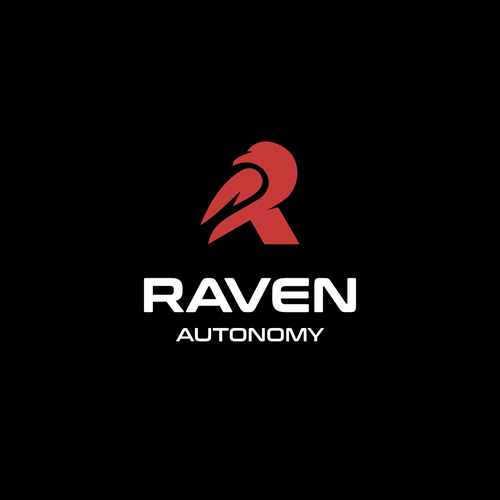 Letter R logo with the title 'Raven Autonomy'