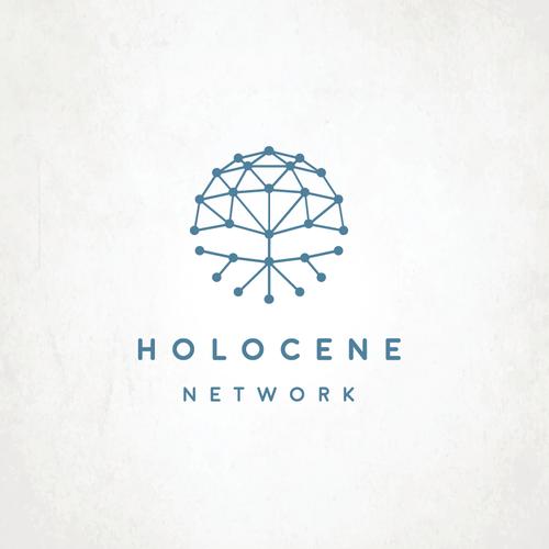 Marketing logo with the title 'Holocene'
