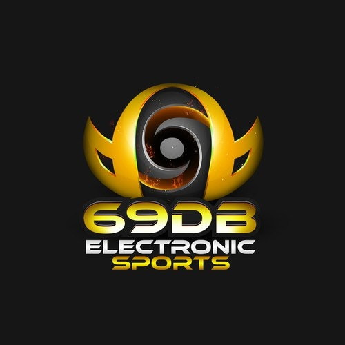 Sphere logo with the title 'Logo Design concept for Electronic Sports 69DB'