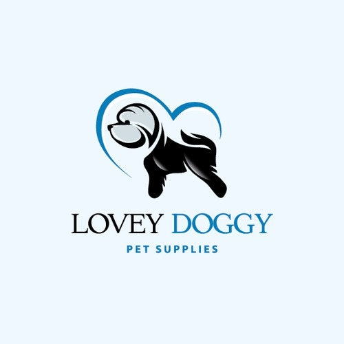 Love logo with the title 'LoveyDoggy'