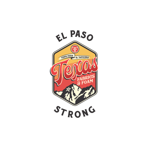 Rustic t-shirt with the title 'Texas El Paso Strong T-shirt'