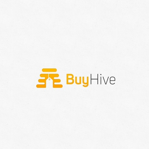 Fly logo with the title 'Hive Label'