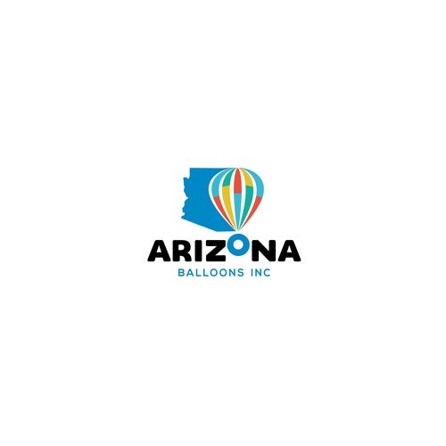 Balloon logo with the title 'Arizona Balloon'
