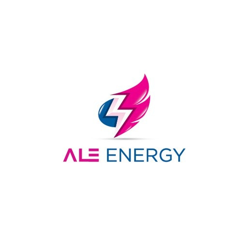Flame logo with the title 'ALE Energy'