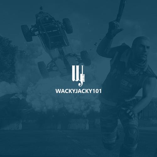 J logo with the title 'WACKYJACKY101'