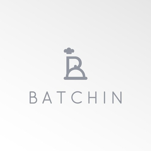 Culinary logo with the title 'Batchin 2'