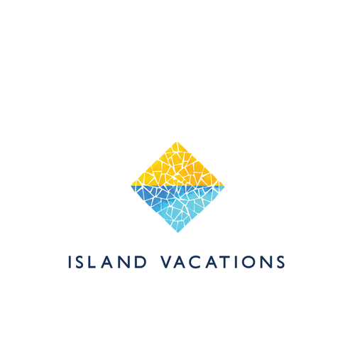 Mosaic logo with the title 'Island Vacation Rental Company seeks logo'