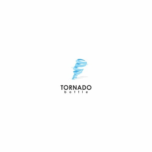 Storm logo with the title 'Tornado Bottle'