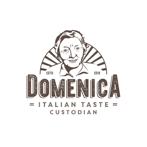 Sun logo with the title 'Domenica'