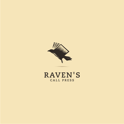 Raven logo with the title 'raven's call press'
