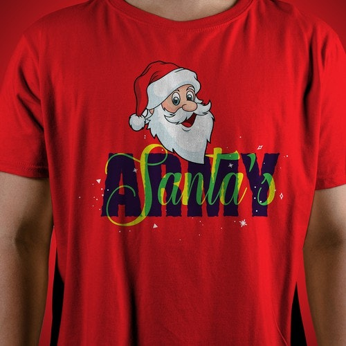 Christmas t-shirt with the title 'T-Shirt Design'