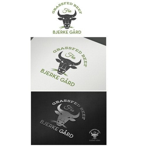 Beef logo with the title 'Beef sustainable and future oriented food'