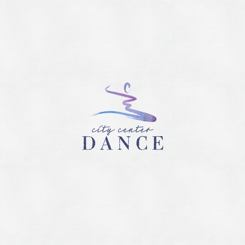 Arts logo with the title 'City Center Dance Studio Logo'