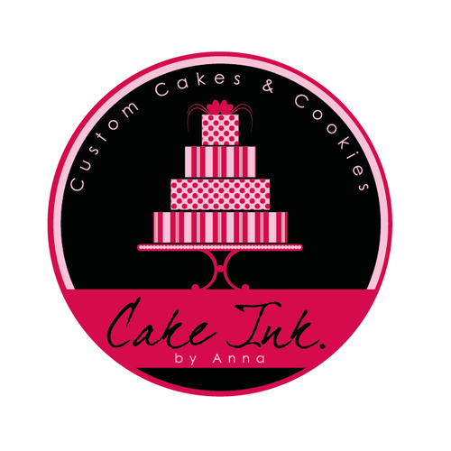 Cookie logo with the title 'cake and bakery logo'
