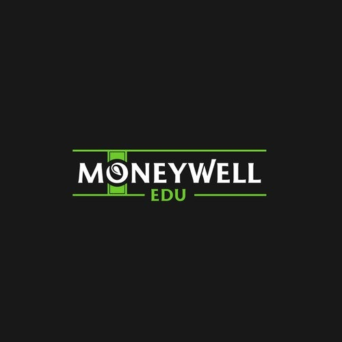 Dollar logo with the title 'Moneywell EDU logo'