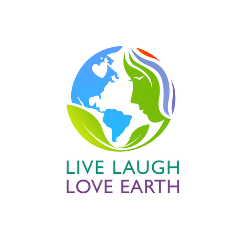 Organization logo with the title 'Live Laugh Love Earth'
