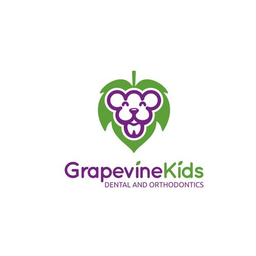 Smart logo with the title 'Logo for Kids Dental and Othodontics'