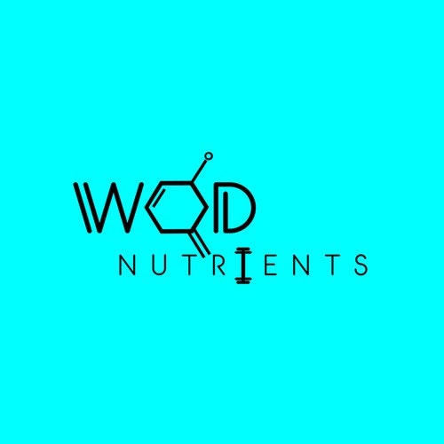 Molecule logo with the title 'WOD nutritients'