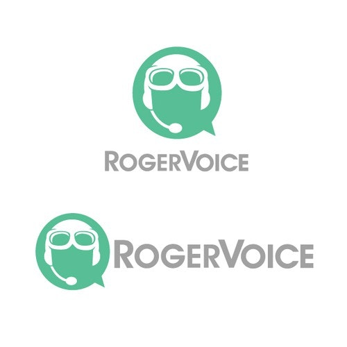 Phone logo with the title 'Roger That Sir!'