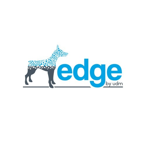 Edge logo with the title 'EDGE by by UDM Logo'