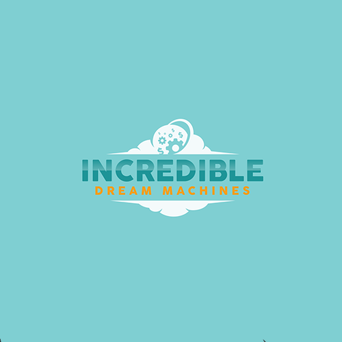 """Dollar logo with the title 'Logo for """"Incredible Dream Machines""""'"""