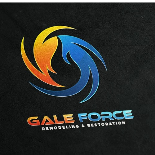Wind logo with the title 'Gale Force'