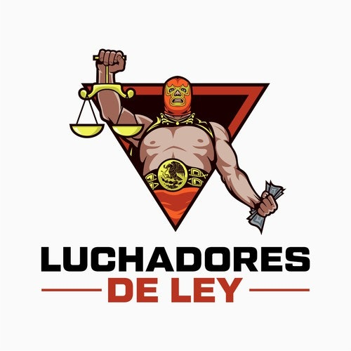 Spanish logo with the title 'Winner of Luchadores De Ley Contest'
