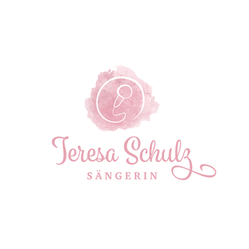 Singer logo with the title 'Logo for a Wedding Singer'