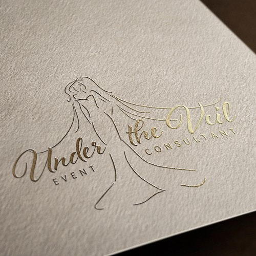 Consultant logo with the title 'Logo for Under the Veil'