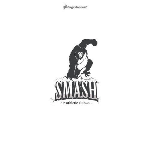 Ape logo with the title 'smash'