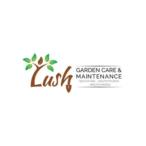 Maintenance logo with the title 'Logo concept for GARDEN CARE & MAINTENANCE'