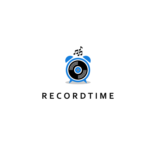 Time logo with the title 'RecordTime'