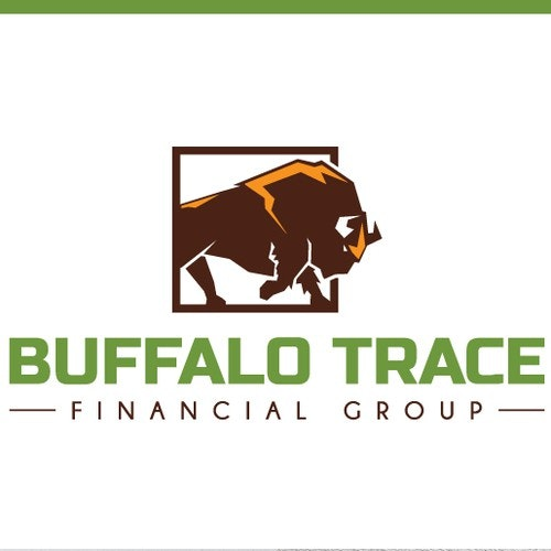 Bull logo with the title 'Buffalo Trace Financial Group'
