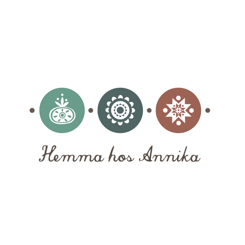 Scandinavian logo with the title 'Create a logo for Hemma hos Annika! :)'
