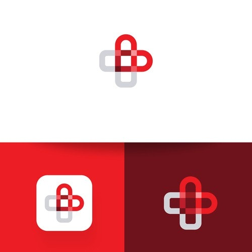 Cross logo with the title 'Heart + First Aid Cross'