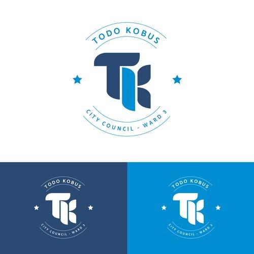 Politics logo with the title 'TK LOGO'