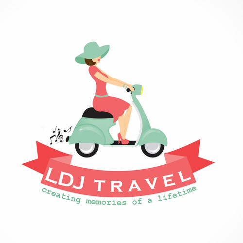 Beautiful logo with the title 'New logo wanted for LDJ Travel'
