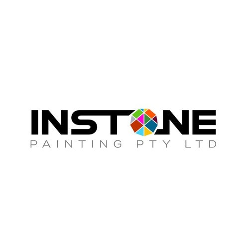 Stone logo with the title 'Painting Logo'