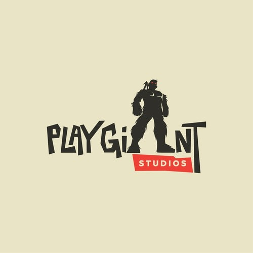 Play logo with the title 'Play Giant Logo'